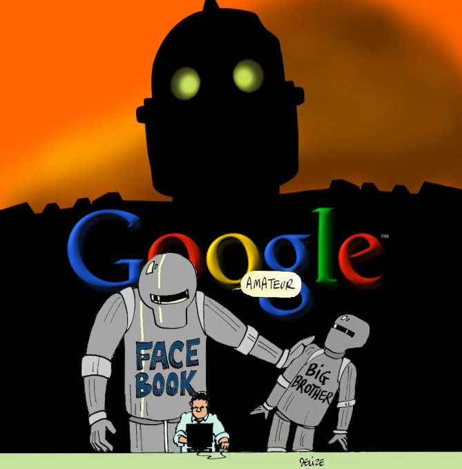 Google Facebook Big Brother